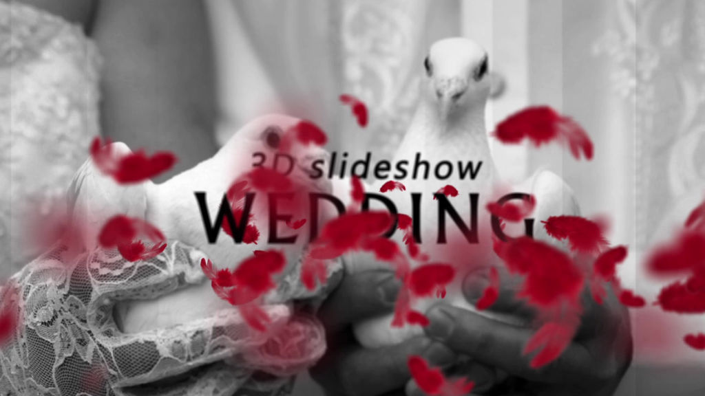 3d wedding slideshow after effects template royalty free after