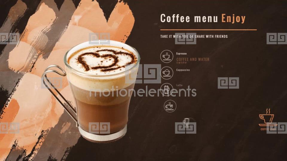 coffee drink menu