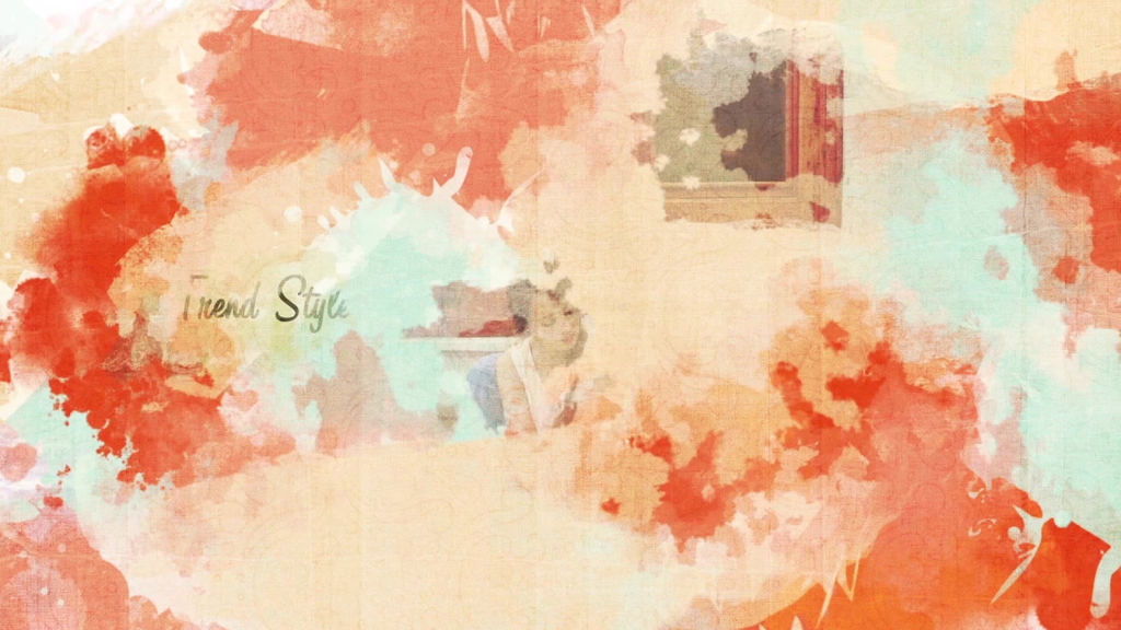 Watercolor painting slideshow after effects templates for Watercolor painting templates free