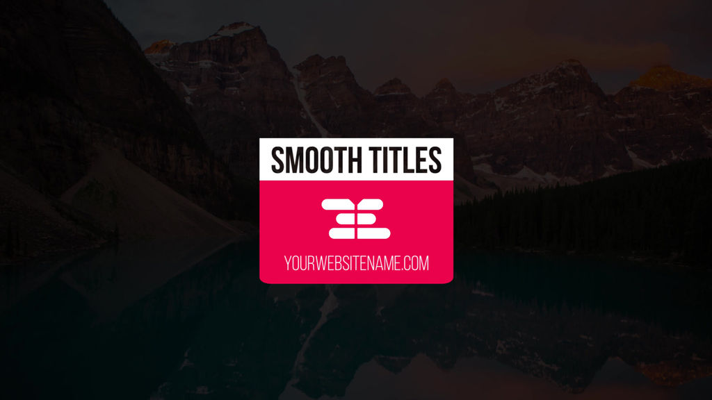16 logo titles premiere pro template 10822401 for Title templates premiere pro