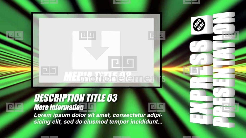 Express presentation apple motion templates 9086600 for Apple motion templates