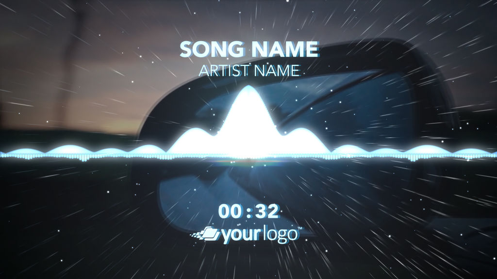 Music Visualizer 01 – Apple Motion Template Apple Motion templates