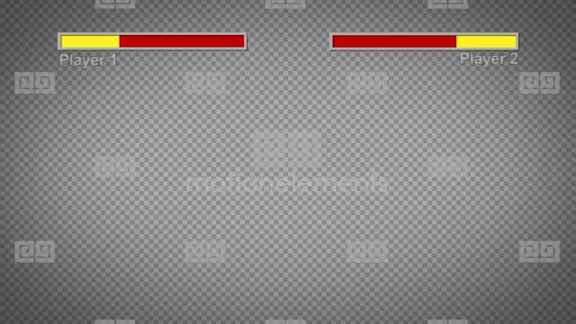 video game health bar pack after effects templates
