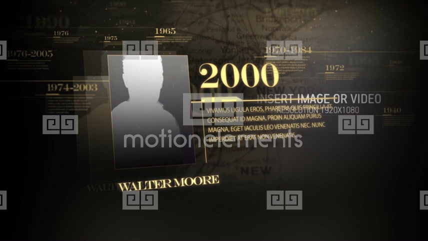 History Timeline After Effects Templates - Timeline after effects template