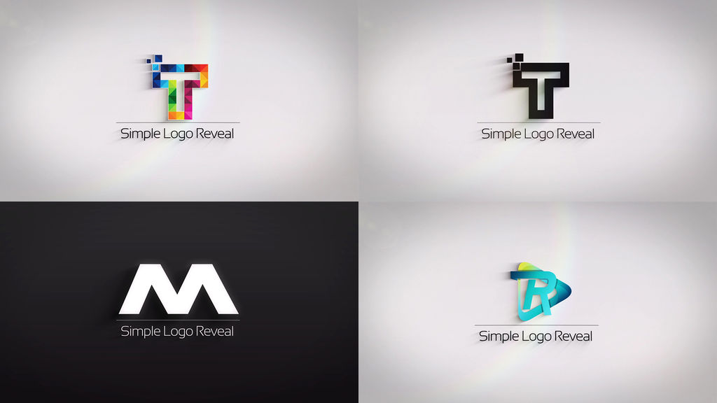 Clean And Simple Logo Reveal After Effects Templates 11847526