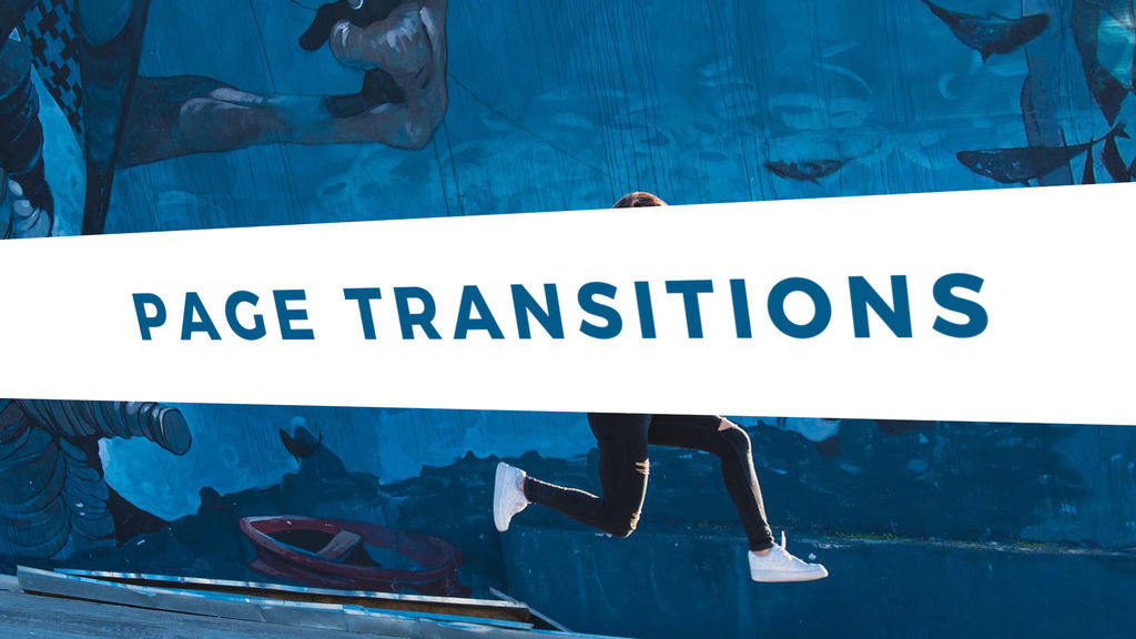 Page Transitions Presets After Effects Animation Preset