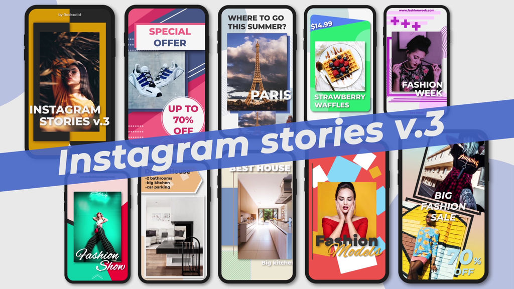 Instagram Stories V 3 After Effects Templates 12988998