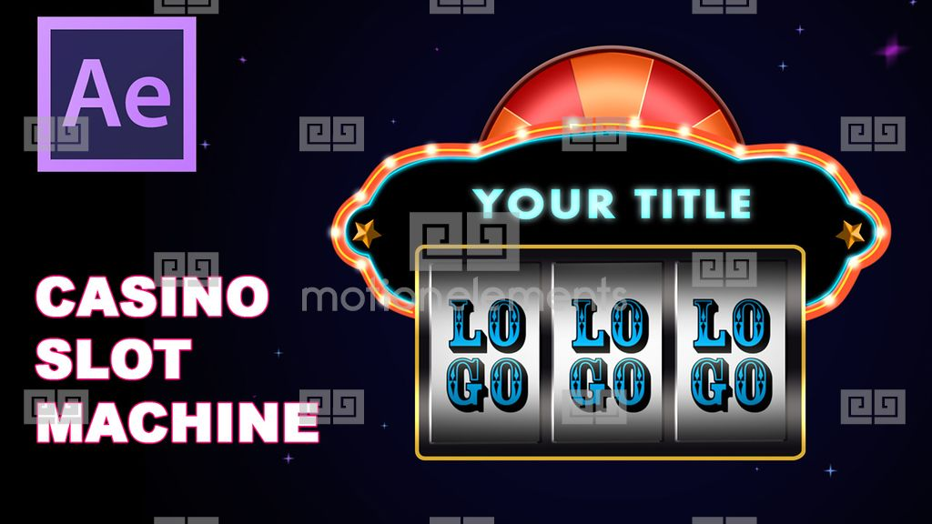 Slot machine after effects template free