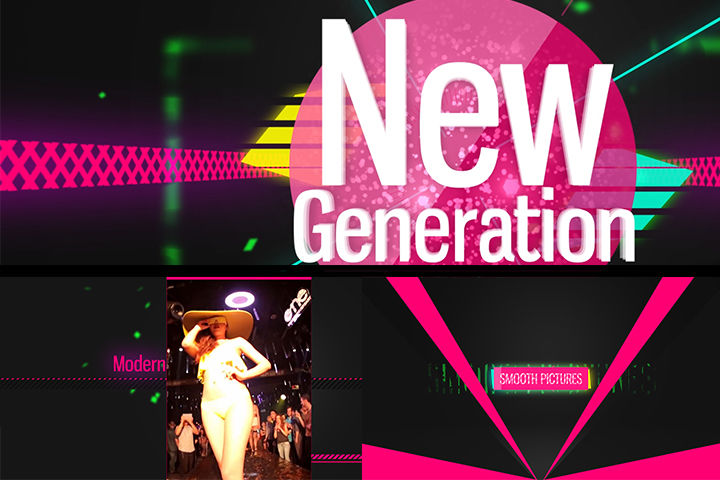 NewGeneration Opener After Effects templates