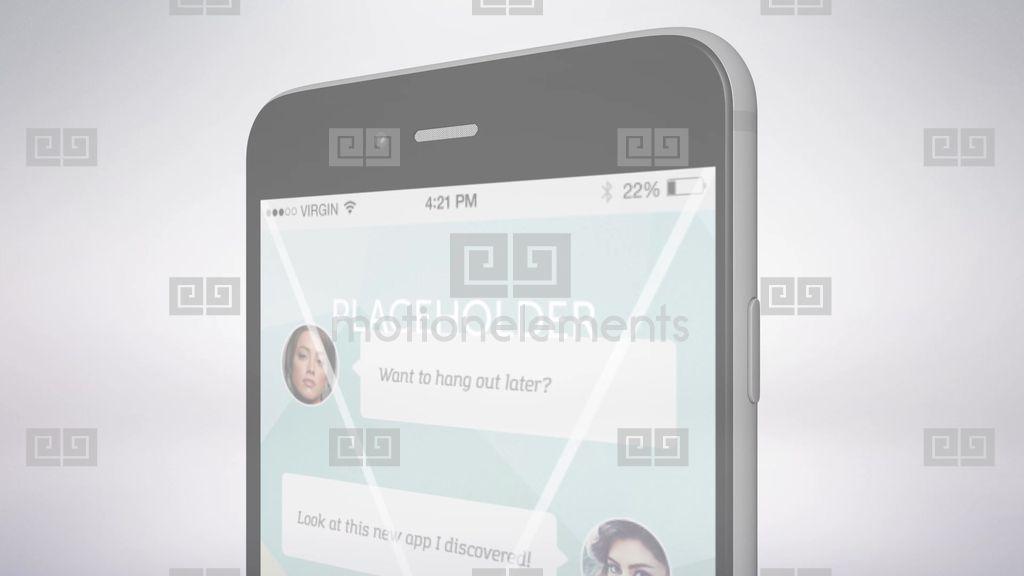 ddv iphone 6 app template after effects templates 9557806. Black Bedroom Furniture Sets. Home Design Ideas
