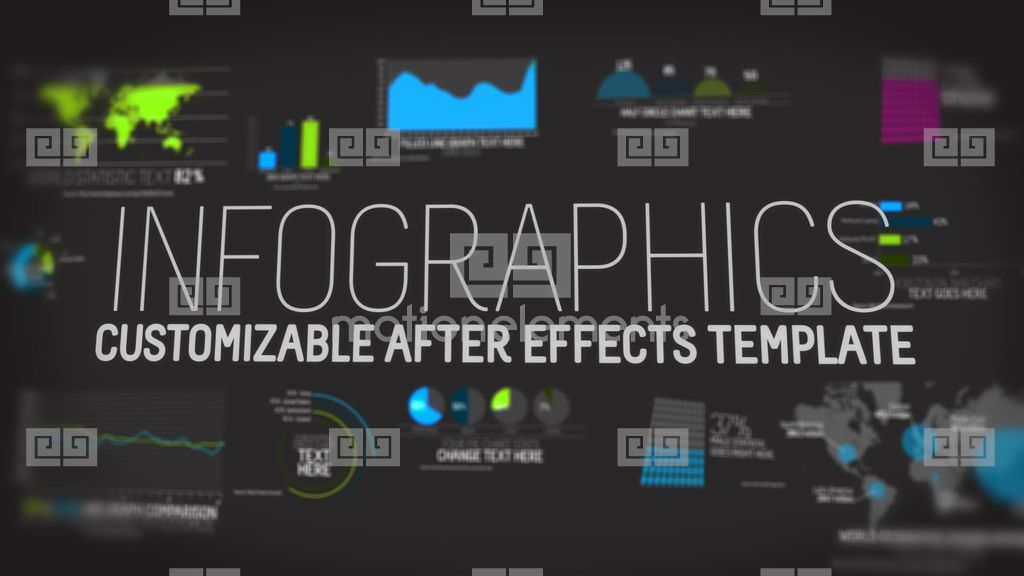 Infographics V1 Template After Effects templates | 1987881