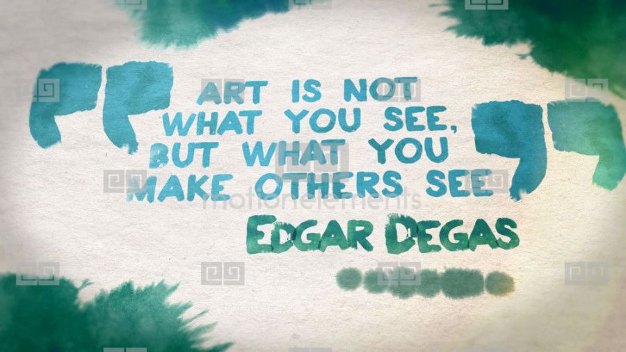 Watercolor Quotes Template After Effects Templates 2181797