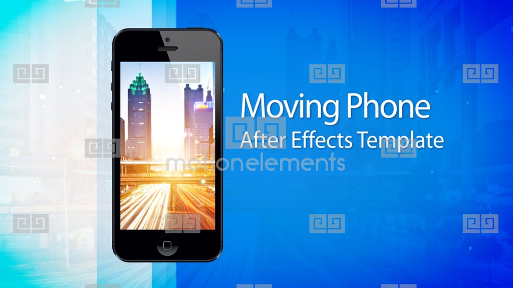 moving phone 15s commercial after effects template after effects templates 2368246. Black Bedroom Furniture Sets. Home Design Ideas