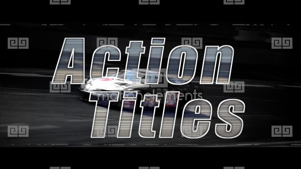Action titles apple motion and final cut pro x template for Final cut pro wedding templates