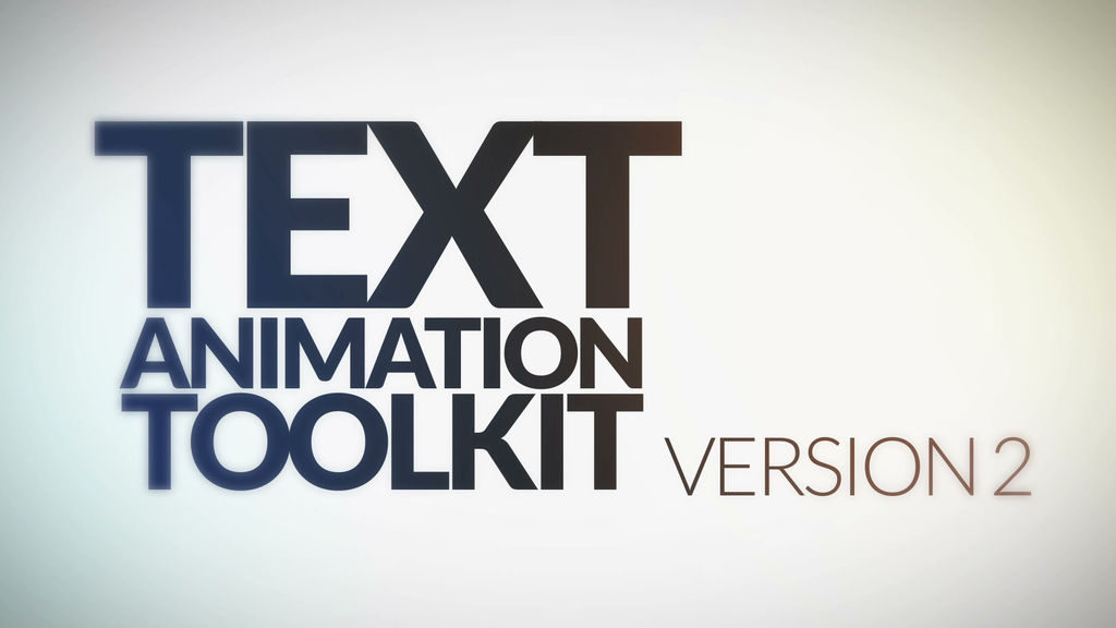 text animation toolkit v 1 20 in 1 pack after effects templates