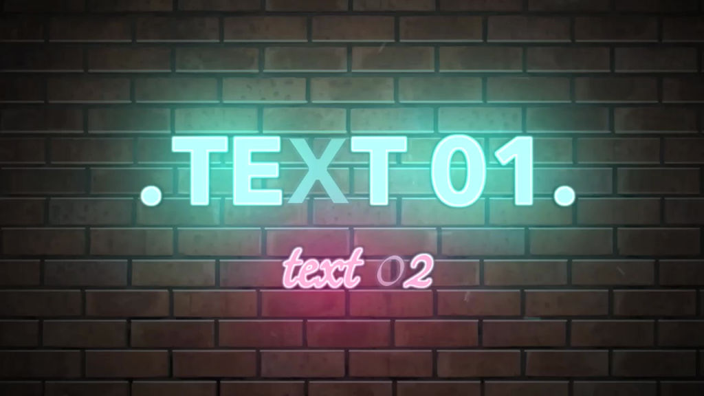 Neon wall intro apple motion and final cut pro x for Free final cut pro intro templates