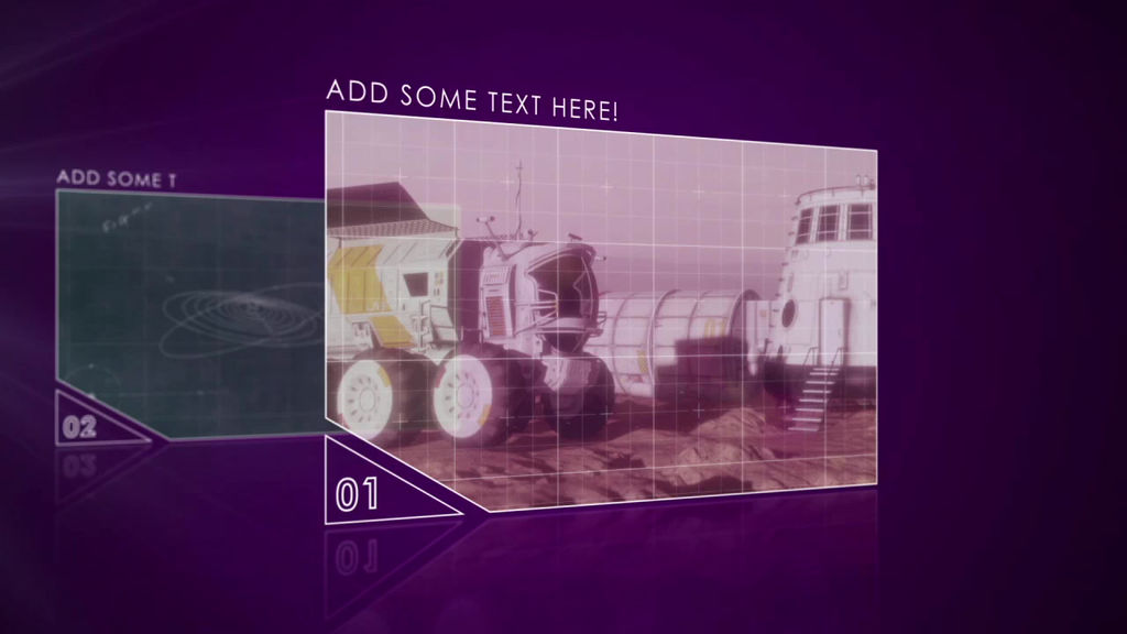 Futuristic Video Slideshow  After Effectsテンプレート 原文